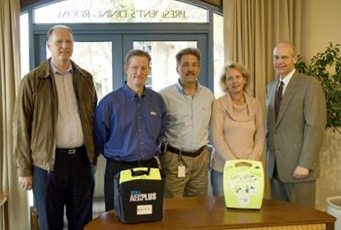 AED Donation to Point Loma Nazarene University in San Diego