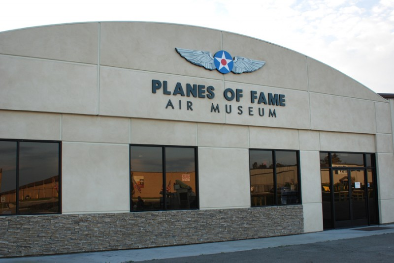 Planes of Fame Air Museum entrance