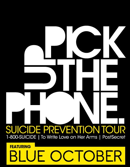 Pick Up The Phone Suicide Prevention Music Tour