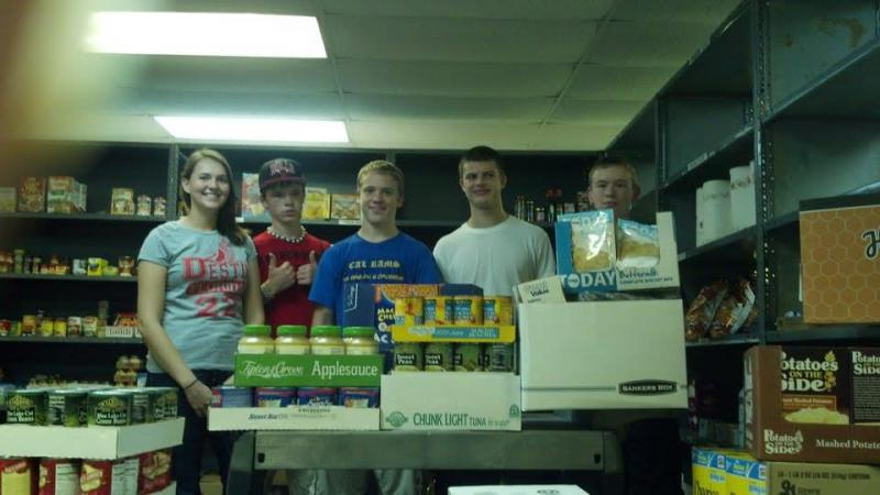 Our Pantry volunteers rock!