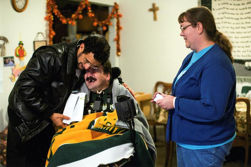 Paralyzed man grateful for The Time Is Now's assistance