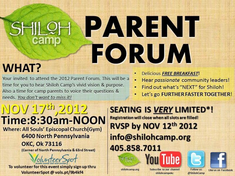 Parent Forum 2012