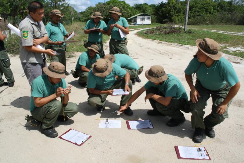Park Guards - Suriname
