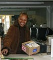 Gloria, owner of Parkside Postal, San Francisco