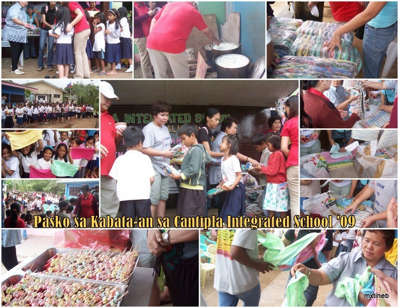 Pasko sa Kabata-an sa Cantipla Integrated School '09