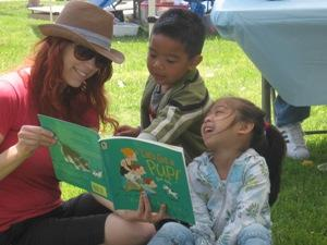 The RedRover Readers program helps children develop empathy through stories and discussion