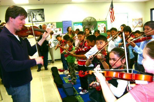 Grammy-Winning Violinist Josh Bell & ETM-LA Students