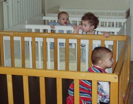 children in orphanage in Pleven, Bulgaria