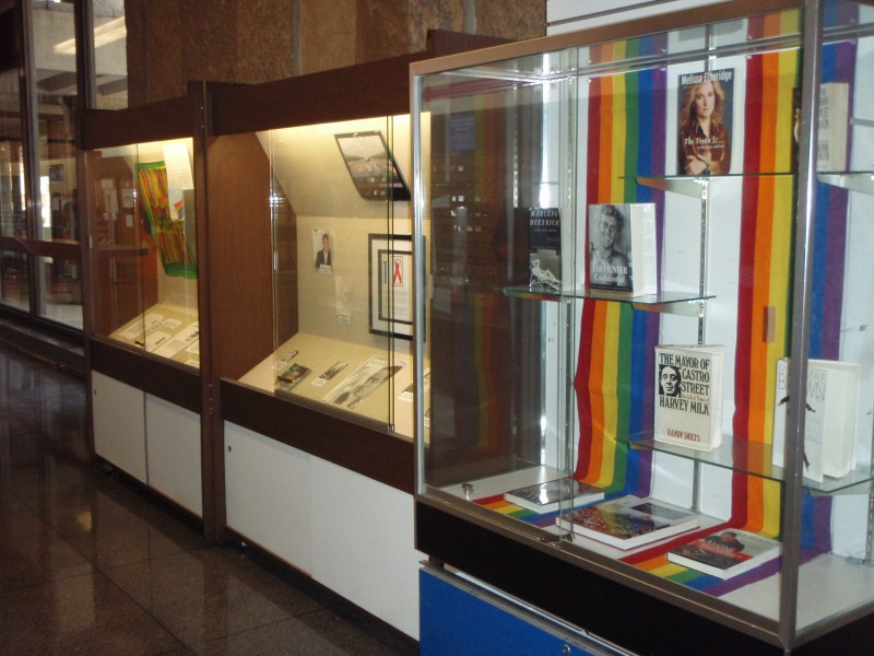 Pride Display at the US Post Office in Milwaukee