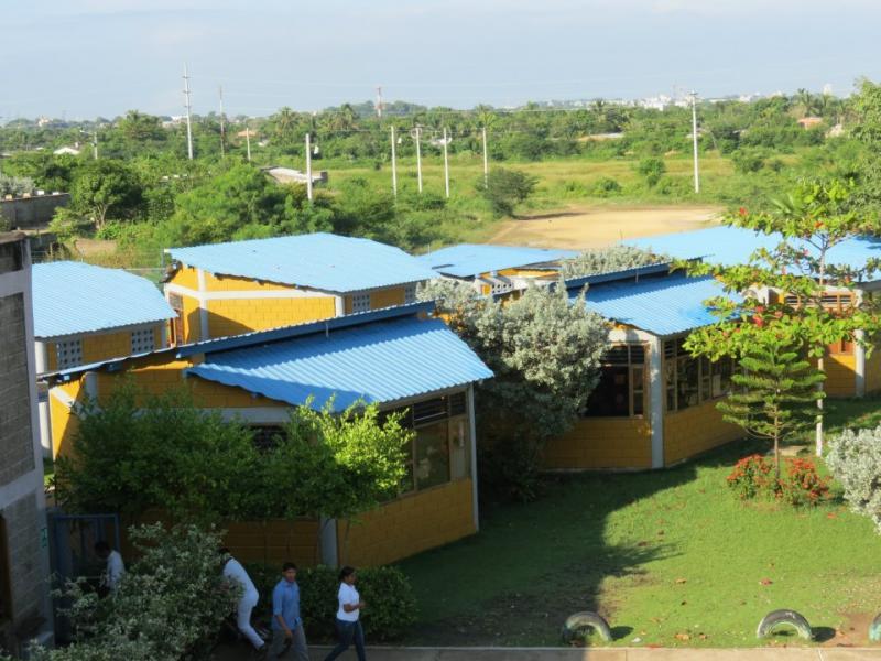 Preschool installations El Pozon, Cartagena 150 children