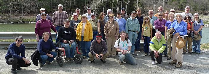 37 participates at our waterfalls & hydroelectric tour on 4.14.12