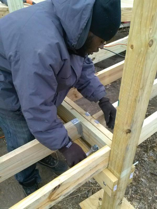 Donations of funds, tools, lumber and supplies helps Young Detroit Builders continue to build ramps for seniors and low-income families in Detroit.
