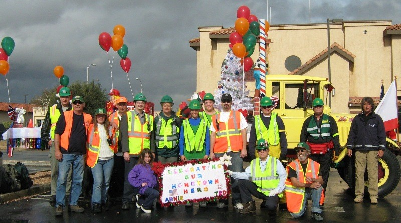 REACT and CERT enter Palmdale Christmas Parade