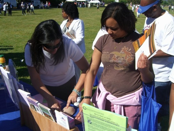 Community outreach education on breast health