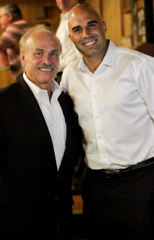 Rocky Bleier and NFL QB Bruce Gradkowski and Parker's Purpose