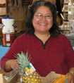 Rosalva started her own juice bar at the Fruitvale Market in Oakland with a small business loan