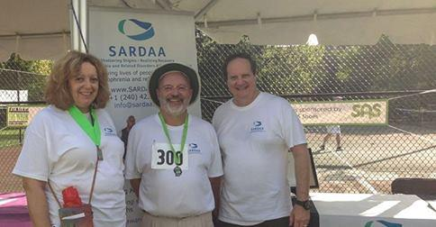 SARDAA volunteers and Board Members participating in The Houston Walk for Mental Health