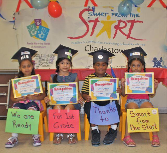 Smart from the Start children in Charlestown, MA ready for school!