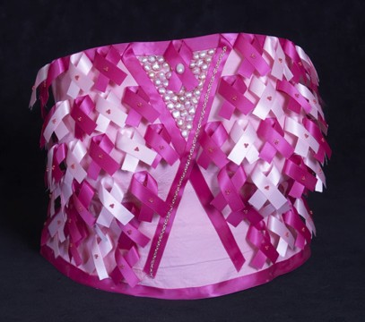 Pink Ribbon Breast Cast from 2007 auction for Tulsa Project Woman