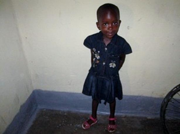 Several SoC contributors help sponsor education; school fees, school supplies, school uniform for each child sponsored. This photo is of Emilly in her new school clothes and ready to go back to school for term 3