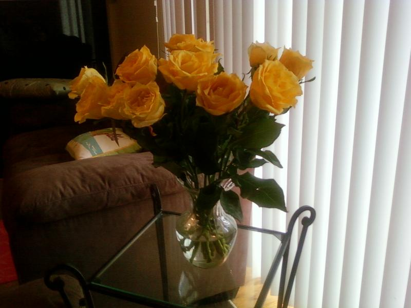 Yellow Roses for Birth Mother's Day