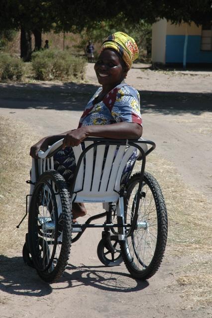 Recipient in Zambia