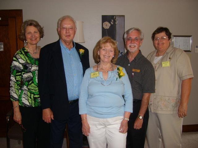 Directors, Overdorf benefactors, and State Senator Lanane