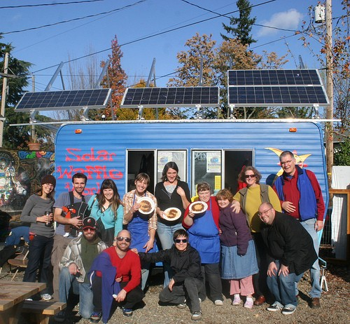 The Solar Waffle Works Grand Opening