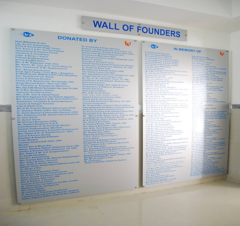 Wall of Founders