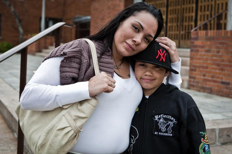 From A Fair Chance, featuring formerly incarcerated mothers who lost custody of their children.