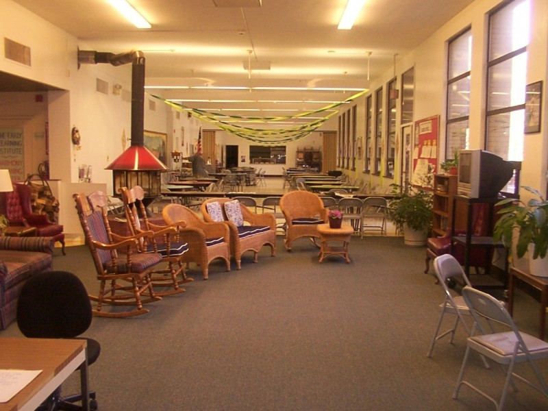 First floor of the Center.