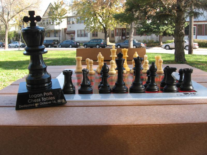 Chess Tables in Logan Park