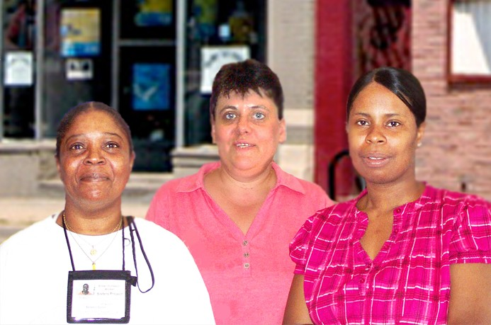 The Sisters Project reaches out to women women working the streets for prostitution and drugs.