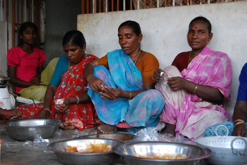 Small Business Development Project for Fisherwomen Affected by Tsunami, India