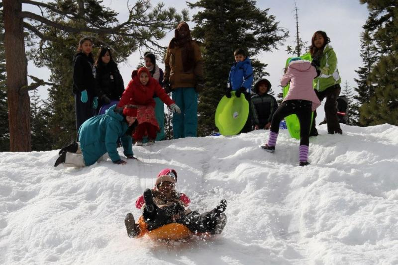 Activities- Team field trips: Snow Day at SWB Oakland