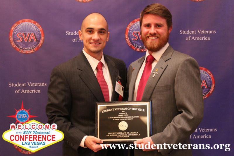 2011 Student Veteran of The Year: Jared Lyon, Florida State University