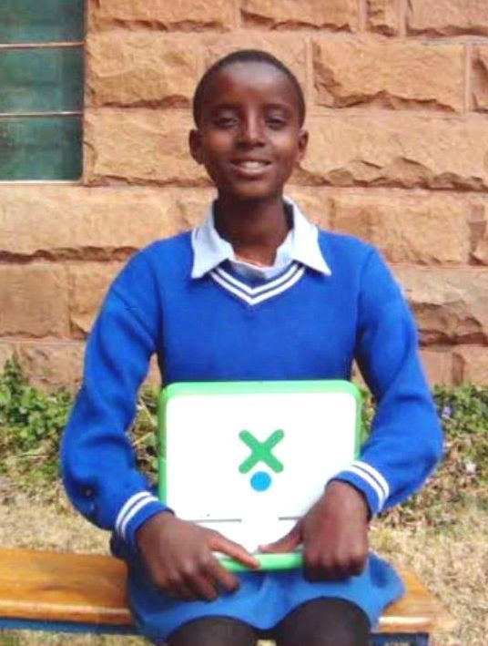 Tlana Musi had no hope for the future until laptops came to Ketane.  Now she wants to become a nurse