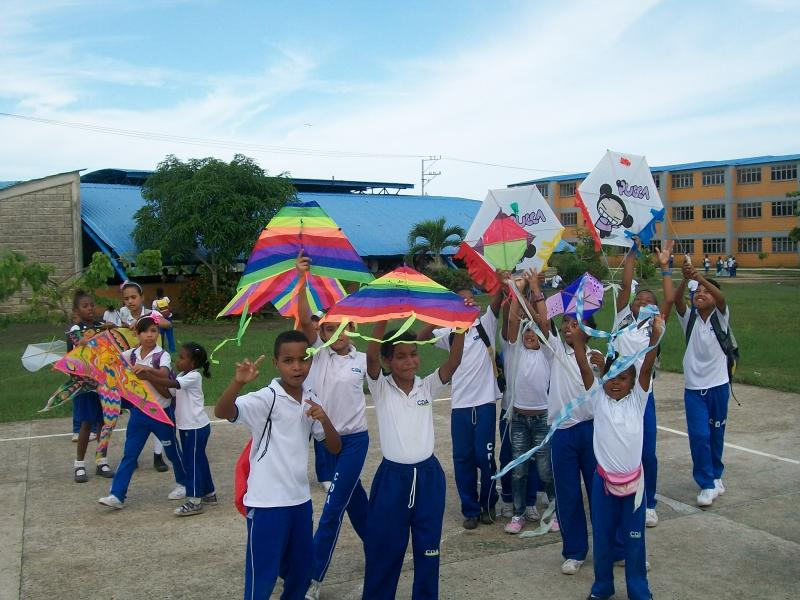 Studetns from Community School