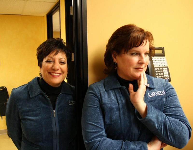 Susan Sappington & Dana Dornsife, Lazarex Cancer Foundation
