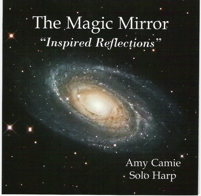 The Magic Mirror  solo harp CD being researched by the SAF