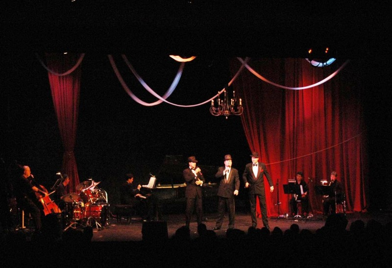 Three Phantoms in Concert - 2008