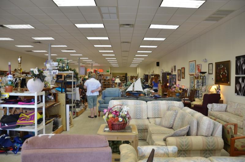 Our 3 thrift stores generate much needed income to support the programs and services we provide to the community!