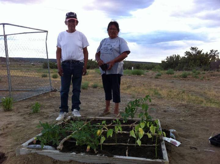 First Recipiants of SFG at Navajo Reservation