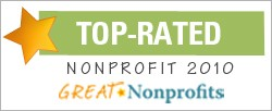 Congratulations, your supporters have spoken! You are a Top-Rated Health Nonprofit!
