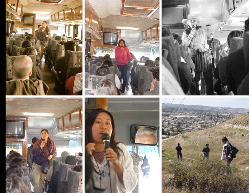 Tijuana Learning & Organizing Network - tour of Maquiladoras