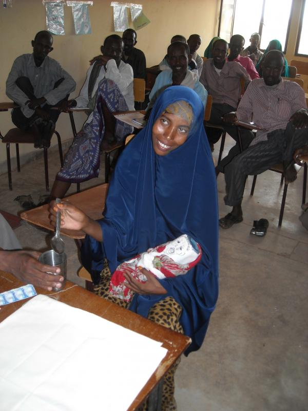 Training health workers in Gode Hospital, Ethiopia