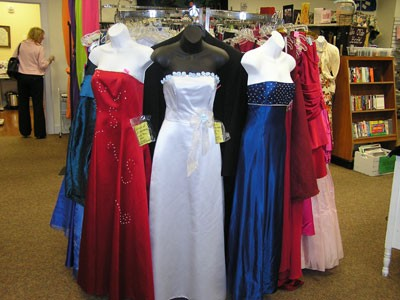 Prom Gowns Galore!