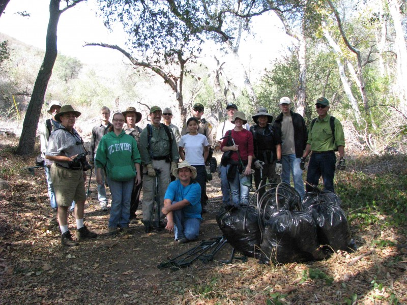 USFS & Back to Natives Restoration Training Program, Nov 2007