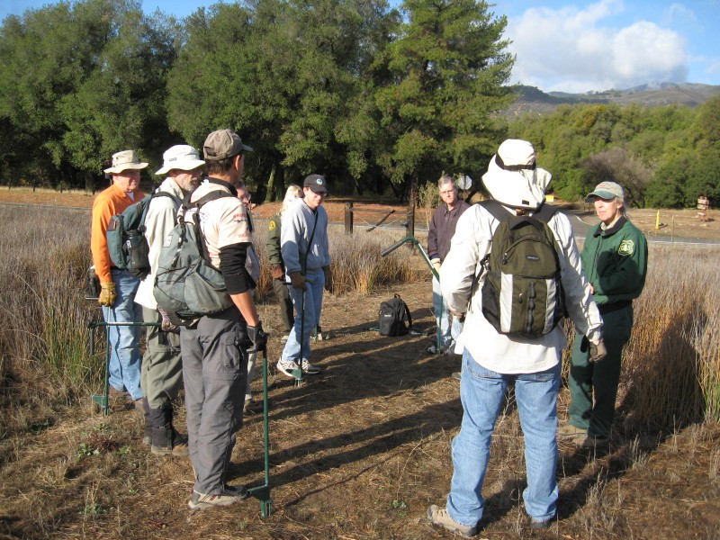USFS & Back to Natives Restoration Training Program 12/2007