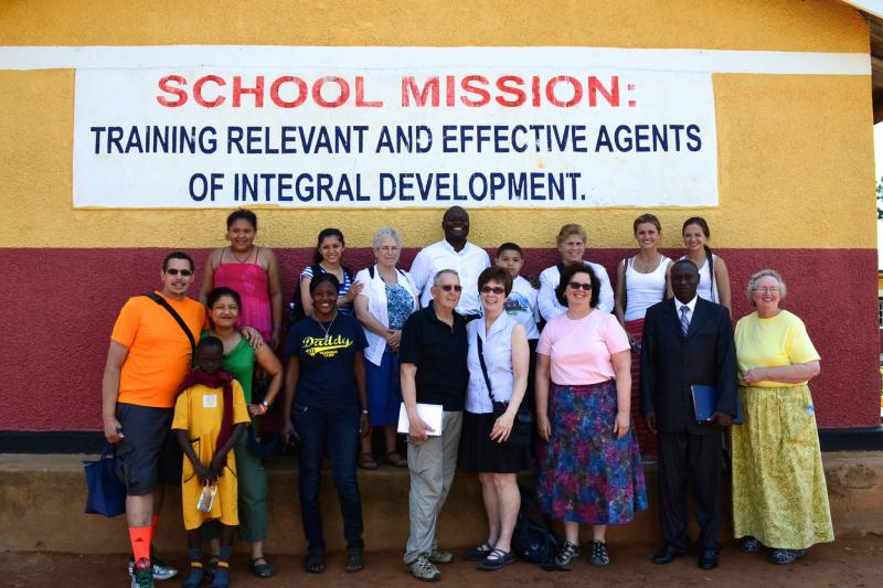 CALU Team w/ School Mission